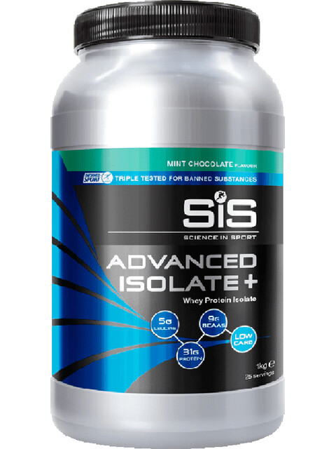 SiS Advanced Isolate Plus Whey Protein 1kg Mint Chocolate